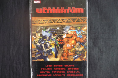 March on Ultimatum  Softcover Graphic Novel  (b28) Marvel