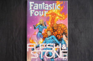 Fantastic Four Flesh and Stone Softcover graphic novel (b28) MArvel