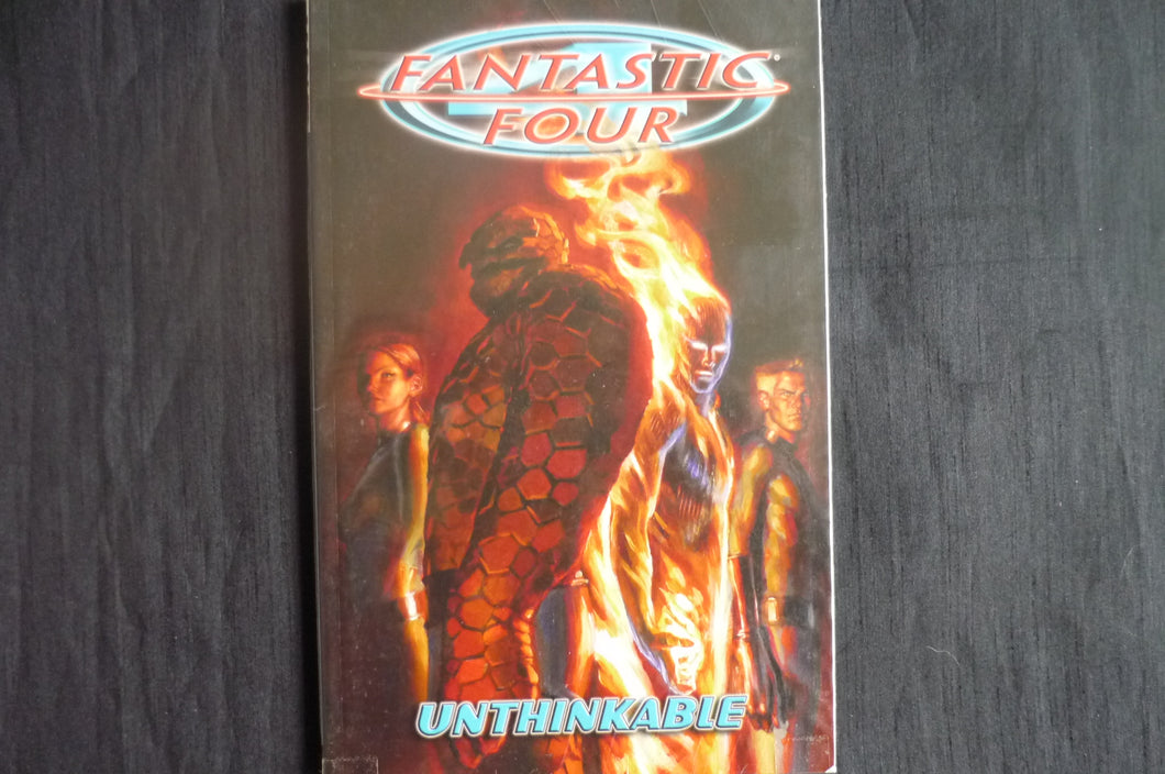 Fantastic Four Unthinkable Softcover graphic novel (b28) MArvel