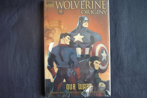 Wolverine Origins our War heroes Hardcover graphic Novel (b18) MArvel
