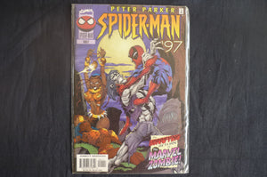 Peter Parker Spiderman Annual 1997  (b28) MArvel 1997 Near Mint