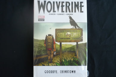 Wolverine Goodbye CHinatown Hardcover graphic Novel (b18) MArvel