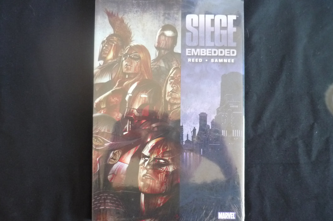Siege Embedded Hardcover graphic Novel (b21) Marvel
