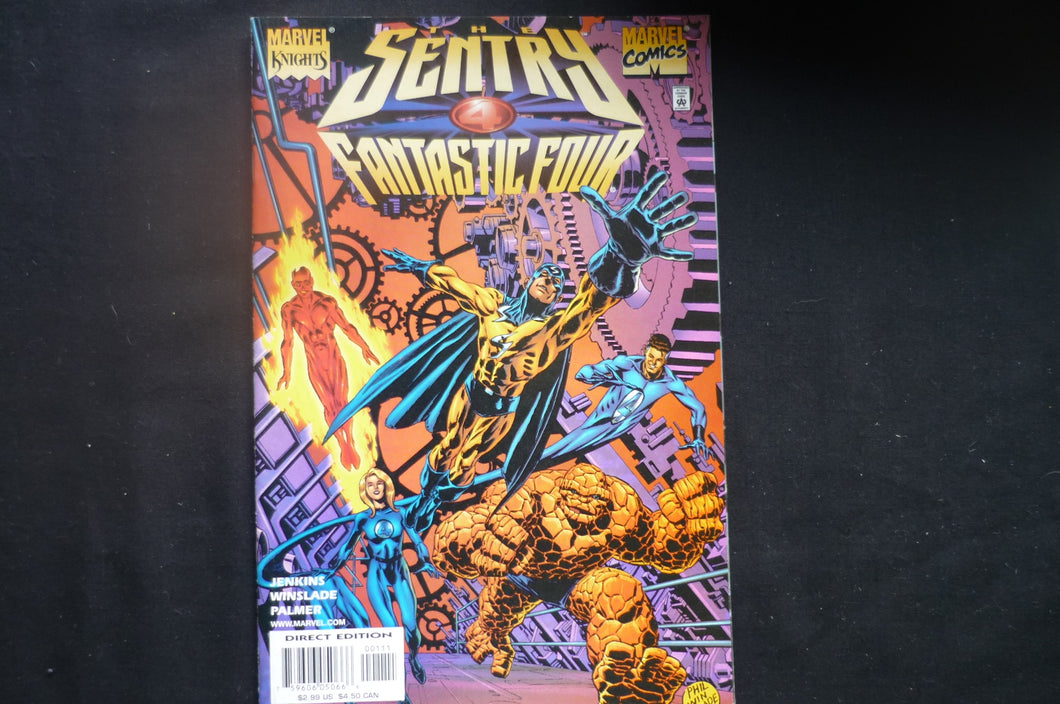 The Sentry Fantastic Four one shot Very Fine    (b6) Marvel 2001