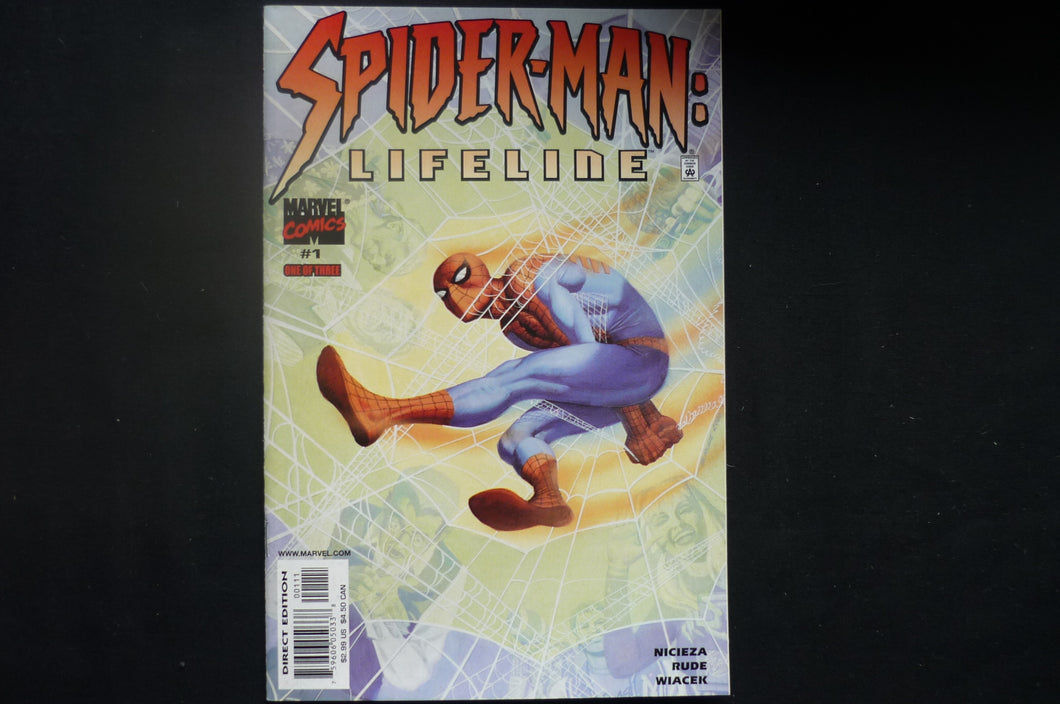 Spider-man Lifeline 1  Very Fine    (b6) Marvel 2001