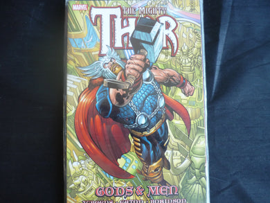 The Mighty Thor Gods and Men  softcover graphic novel (B31)