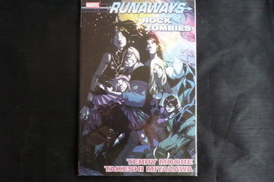 Runaways Rock Zombies  softcover graphic Novel (b12) mArvel