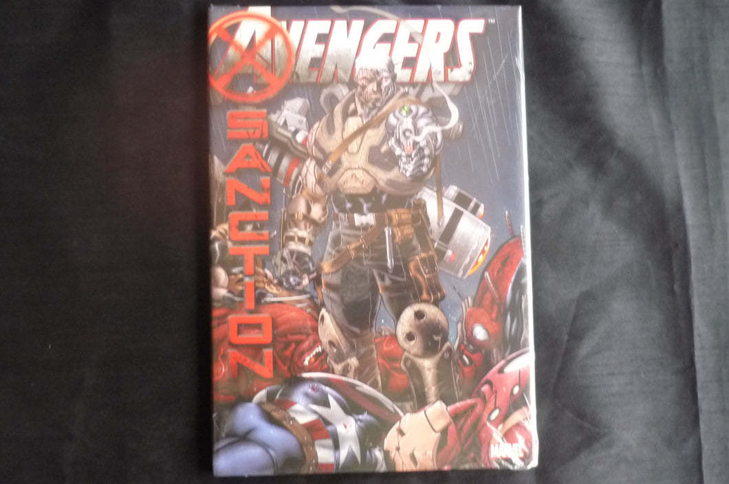 MArvel Avengers X Sanction Hardcover Graphic Novel (b12) Marvel