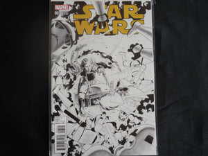 Star Wars 3  Sketch Variant (b7) 2015 MArvel Near mint