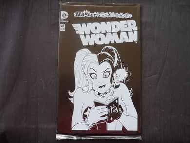 Wonder Woman 47 Poly Bagged edition  (b5) Harleys little black Book