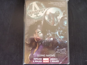 Avengers Undercover Going Native Softcover graphic novel (b19)