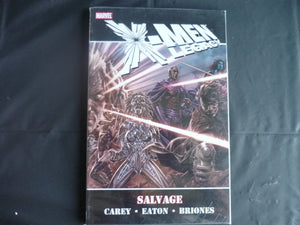X-men Legacy Salvage softcover graphic novel  (b29)