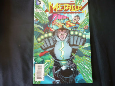 Action Comics 23.4 Standard cover Metallo  (B5) NM