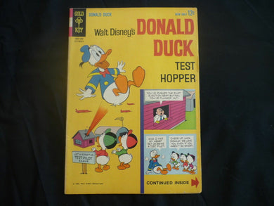 Donald Duck issue 90 test Hopper (B7) Gold Key 1963 Very Good + condition