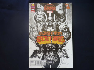 Deadpools Secret Secret Wars 1 C2E2 variant (B6) MArvel Deadpool