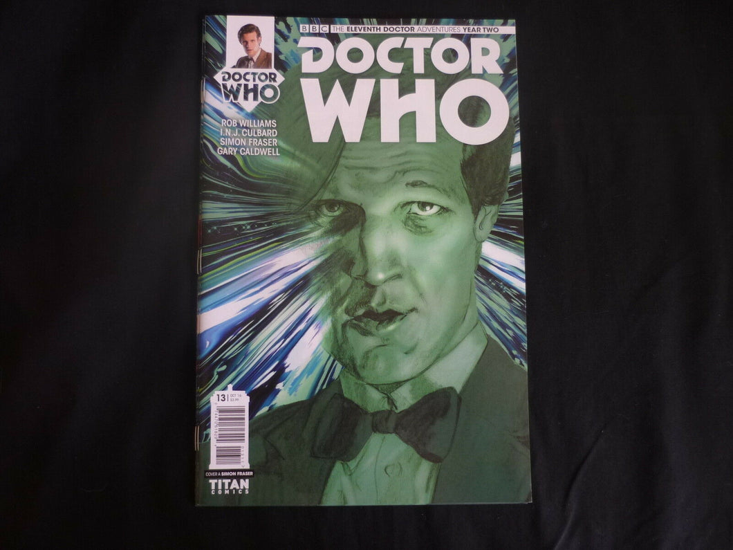 Adventures Doctor Who Eleventh Doctor year two 13 cover A (b5)