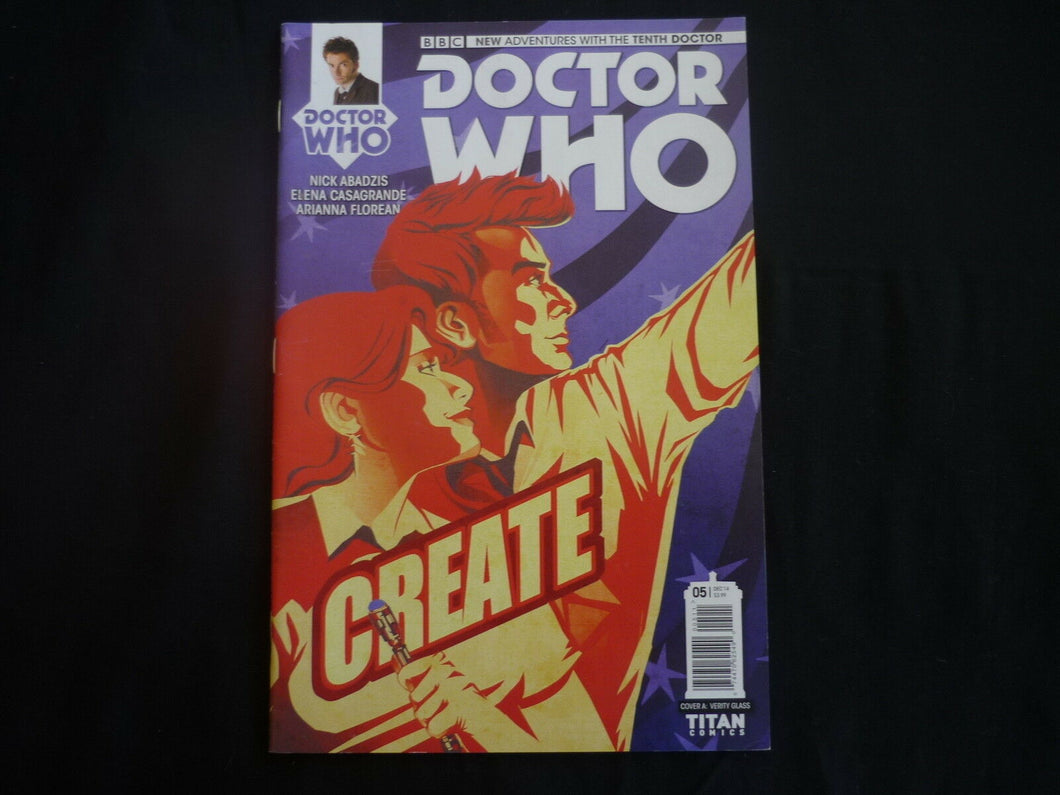 New Adventures Doctor Who tenth Doctor  5 cover A (b5) Near Mint