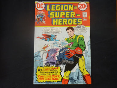 Legion of Super Heroes #4 good+ condition (b4) DC 1973