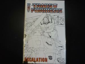 Transformers Escalation #4 Variant cover (B3) Near mint