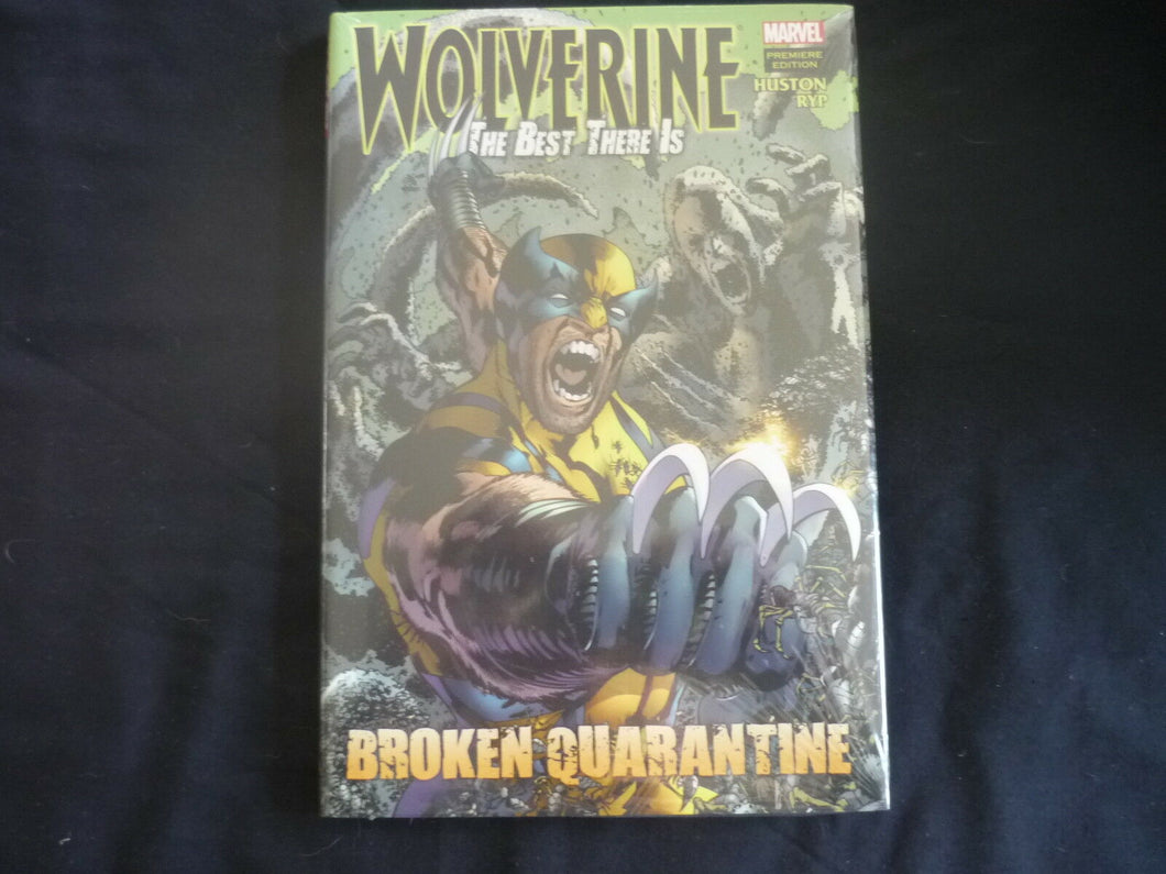 Wolverine Best there is Broken Quarantine  HardCover Graphic Novel (b7) Marvel