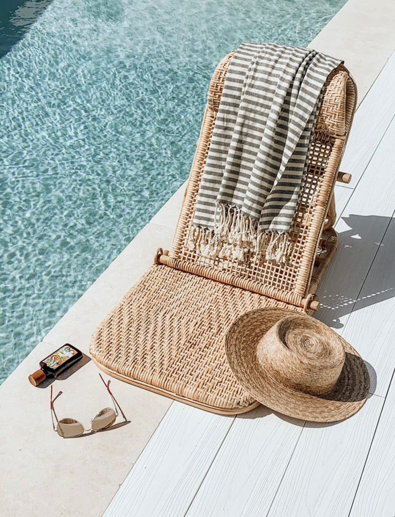 Rattan Beach Chair - Sol Lounger Duo