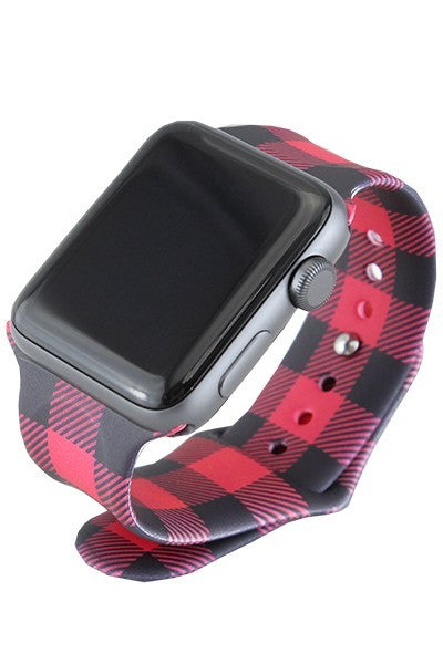 Buffalo Plaid Watchband