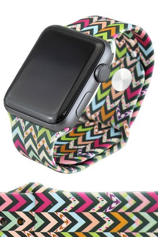 Chevron Watchband