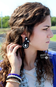 Black Stallion Earrings