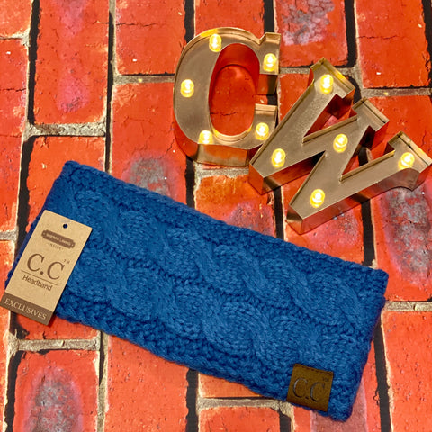 C.C Headband - Denim Blue