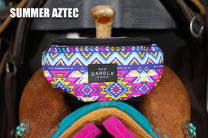 Ranch Dress'n Saddle Sack - Summer Aztec