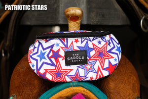 Ranch Dress'n Saddle Sack - Patriotic Stars