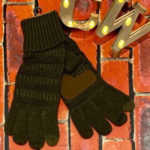 C.C Smart Tip Gloves - Olive