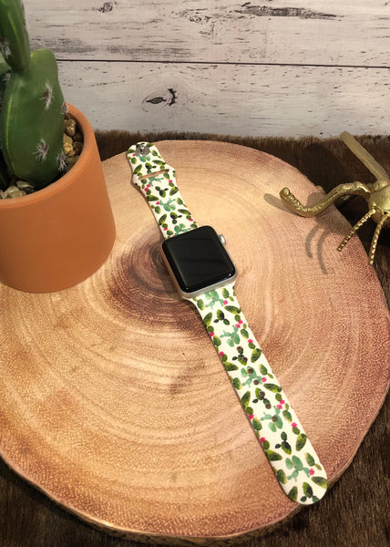 White Cactus Watchband