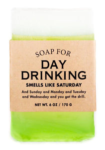 Whiskey River Soap Co. Soap Day Drinking