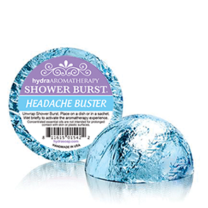HYDRA AROMATHERAPY Headache Buster Shower Burst