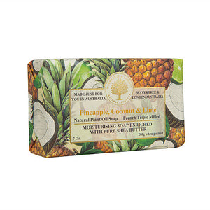 WAVETREE & LONDON Pineapple, Coconut & Lime Soap