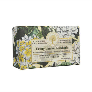 WAVETREE & LONDON Frangipani and Gardenia Soap