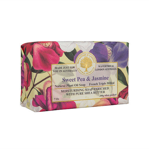 WAVETREE & LONDON Sweet Pea and Jasmine Soap
