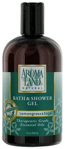 AROMALAND Bath & Shower Gel Lemongrass & Sage