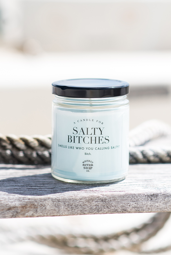 Whiskey River Soap Co. Candle Salty Bitches