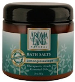 AROMALAND Bath Salt Lemongrass & Sage