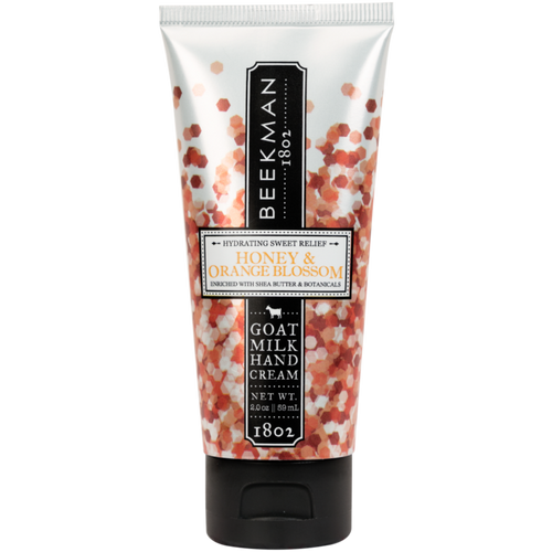 BEEKMAN 1802 Honey Orange Blossom Goats' Milk Hand Cream