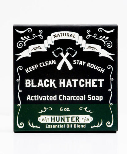 Latika HUNTER Activated Charcoal Bar Soap