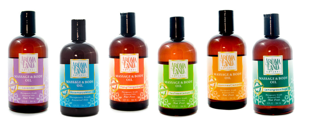 AROMALAND Massage & Body Oil Rosemary & Mint