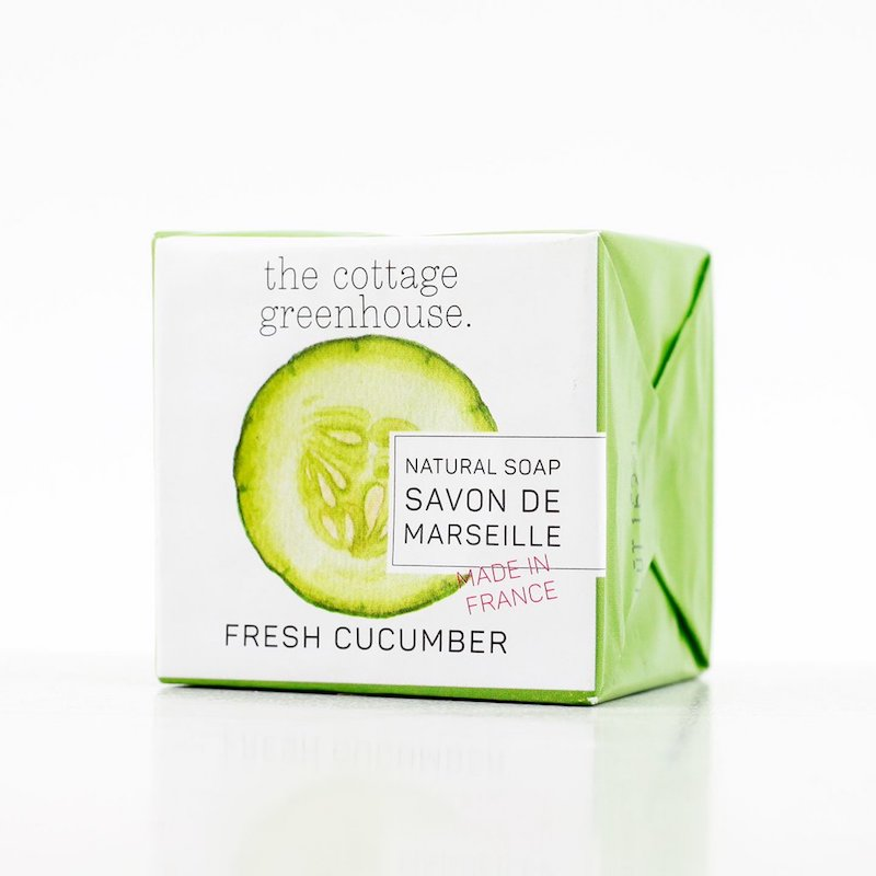 THE COTTAGE GREENHOUSE Cucumber & Honey French Soap
