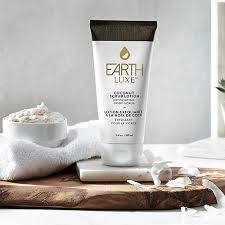 Earth Luxe Coconut Oil Exfoliating Body Lotion Scrub