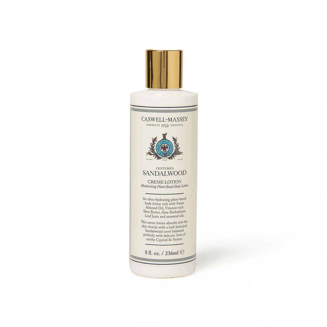 Caswell Massey Sandlewood Creme Lotion