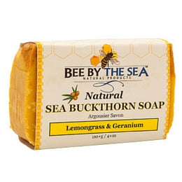 BEE BY THE SEA Sea Buckthorn Soap Lemongrass & Geranium
