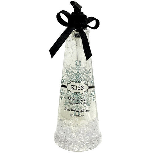KISS ME IN THE GARDEN Kiss Shower Gel In Plastic With Crystals