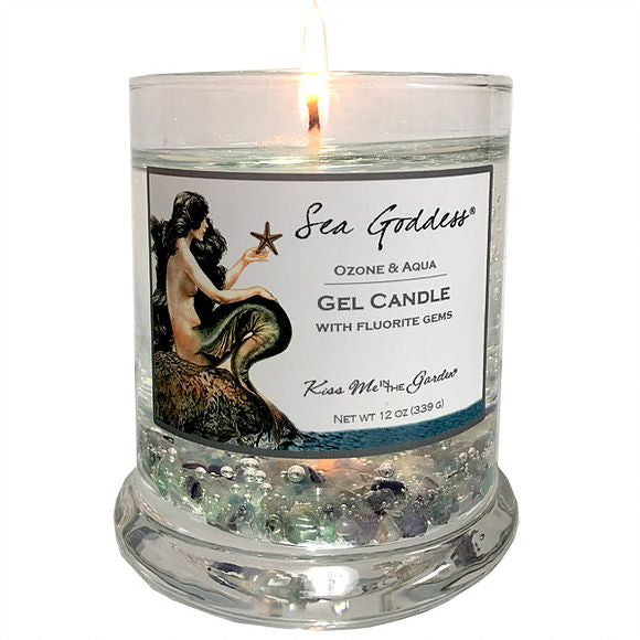 KISS ME IN THE GARDEN Sea Goddess Candle